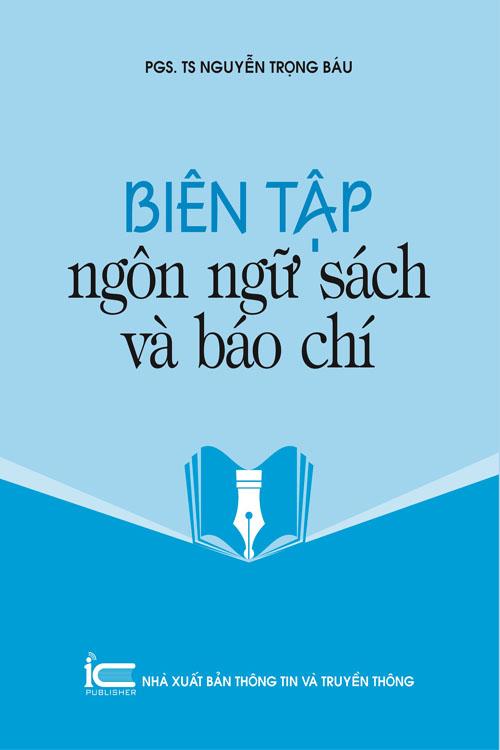 Biên tập ngôn ngữ sách và báo chí