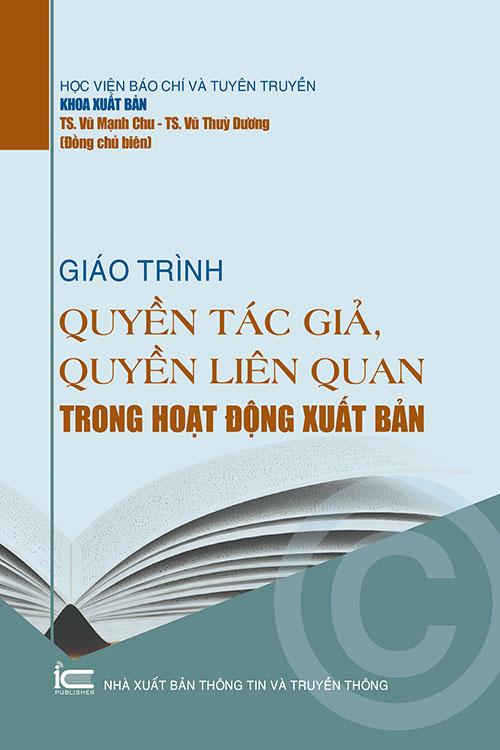 Giáo trình Quyền tác giả và quyền liên quan trong hoạt động xuất bản